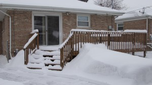 Home Inspection in winter time